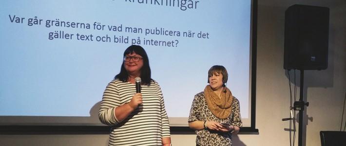 Integritet och publicering, online och offline